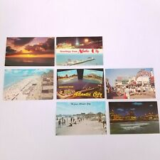 Vintage Atlantic City New Jersey Postcards Lot Of 7 Greetings from Atlantic City