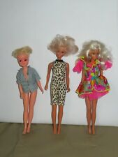 3 vintage Sindy dolls. 2 x Hasbro. 1 Pedigree. With outfits