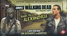 The Walking Dead Road To Alexandria Factory Sealed Trading Card Hobby Box