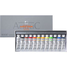 Acrylic Colour Paint Set Shinhan Professional 12 Colors 20ml Tube Artist Drawing