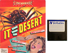 """IT CAME FROM THE DESERT floppy disc 3,5"""" Commodore Amiga backup game disk (read)"""