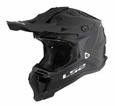 LS2 Subverter MX470 Solid MX Offroad Helmet Matte Blackout