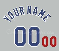 Baseball Los Angeles Dodgers Number Kit for 1988 World Series Gray Jersey