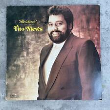 Tito Nieves – The Classic [1988] Vinyl LP Latin Salsa Combo Records El Gordito
