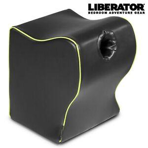 Liberator Top Dog Flesh light Mount Black - Cuscino Supporto Posizioni Sessuali