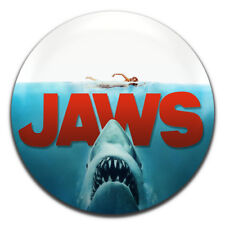 Jaws Classic Horror Movie 25mm / 1 Inch D Pin Button Badge