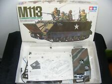 Maquette Tamya M113 US armoured personnel carrier 1:35
