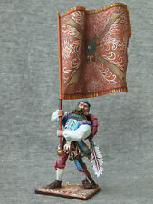 Landsknecht with a banner. Elite tin soldiers St. Petersburg  54 mm