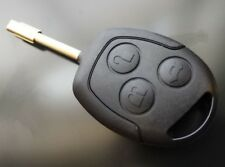 GENUINE FORD MONDEO FOCUS TRANSIT CONNECT 3 BUTTON REMOTE ALARM KEY FOB NEW CASE