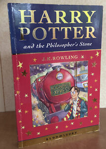 Harry Potter and the Philosopher's Stone J.K Rowling First 1st Edition 1st Print