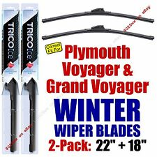 WINTER Wipers 2pk Premium Grade - 1994 Plymouth Voyager/Grand Voyager 35220/180