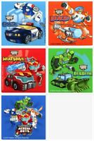 Transformers Rescue Bots Stickers x 5 - Birthday Party Supplies - Favours Loot