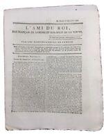 Poleymieux au Mont d'or en 1791 Haute Marne L'ami du Roi Révolution Française
