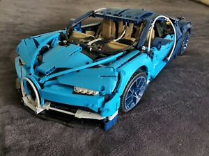 Lego Bugatti Chiron 42083, Built, with Box and Instructions