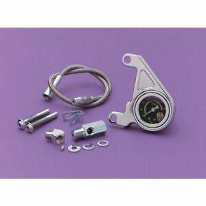 Arlen Ness Oil Pressure Gauge Kit Radius 15-658