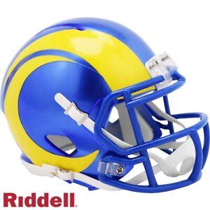 Los Angeles Rams Riddell Speed Mini Football Helmet - New 2020 Logo