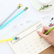 3pcs Novelty Strong Cactus Plant Gel Pen Ink Marker Pen School Office Supply