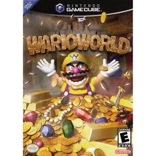WARIO WORLD  NTSC-U/C  US  USA  GAMECUBE  GC  WARIOWORLD