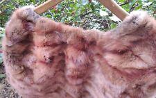 1950-60 Vintage Chestnut Brown Hollywood Style Fur Stole