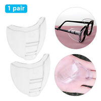 1 Pair Clear Universal Flexible Protective Side Shields for Eye Glasses Safety