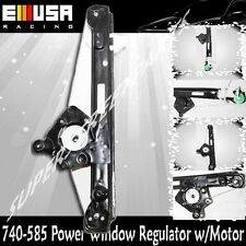 Rear Passenger Power Window Regulator w/o Motor for 00-07 Ford Focus 740-585