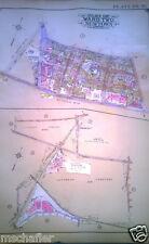 Orig 1929 Belcher Hyde Atlas Map QUEENS NY Maspeth Christ The King High School