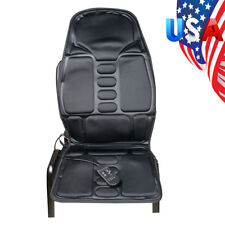 USA Back Massage Chair Heat Seat Cushion Neck Pain Lumbar Support Pads Car Relex