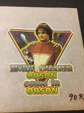 Vintage Iron On T-Shirt Transfers Mork & Mindy