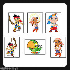 Disney Jake and the Neverland Pirates Tattoos - Party Favours x 12 pieces KIDS