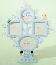 """Lillian Rose Baby Boy 10.5"""" Blue Owl First Year Photo Picture Frame 24Fr211Ob"""