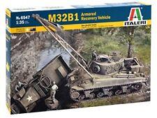 M32 B1 ARV (Armoured Recovery Vehicle) Tank Plastic Kit 1:35 Model 6547 ITALERI