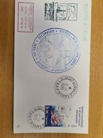French Antartic 1986  Ship  on FDC K13