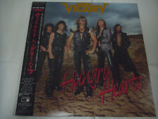 VICTORY-Hungry Hearts JAPAN 1st.Press PROMO w/OBI Accept Scorpions Gary Moore