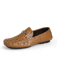 Fashion  Leather Shoes Men Driving Thermal Shoes Loafer Shoes CD 8811-1