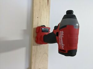 "MILWAUKEE M18 ""CLICK IN"" tool holder / hanger mount heavy duty CLICK IN Bracket"