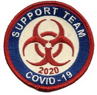 TP09 CORONA SUPPORT TEAM 2020 PATCH IRON ON - STOCKING STUFFER - CHRISTMAS GIFT