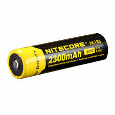 NiteCore NL183 Protected 3.7V 2300mAh 18650 Rechargeable Li-ion Battery