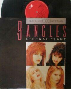 "BANGLES ~ Eternal Flame ~ 12"" Single PS"