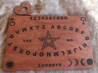 OFFER Hand Crafted Pentagram Spirit Board Ouija Planchette Handmade .9 mm