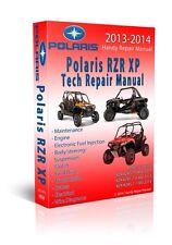 Polaris RZR RZRS 800 900 1000 OEM Service Repair Manual CD Plus Bonus - 2014