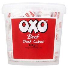 Oxo Rindfleisch Bestand Würfel 378G Gastronomie Packung