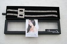 New Glamorous Bra Straps- Double Row Diamante with Square, RRP £27.80