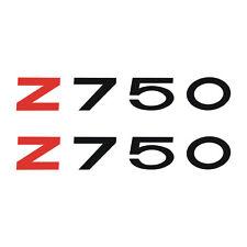 2 Stickers Z 750 Z750 Kawa - 13cm x 2cm