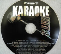 **KARAOKE CD+G DISC KARAOKE HITS VOLUME 14**