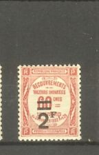 """FRANCE STAMP TIMBRE TAXE N° 54 """" 2F SUR 60c ROUGE """" NEUF xx SUP"""