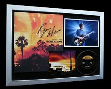 RYAN ADAMS+SIGNED+FRAMED=100% AUTHENTIC+ASHES & FIRE+PROOF+EXPRESS GLOBAL SHIP!!
