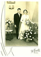 Photo ancienne mariage  Basse-Indre Y Mocquard