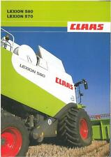 CLAAS-LEXION combine 570 et 580 brochure - 2RS