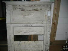 """Antique Heart Pine Fireplace Mantel overall dimensions 58 1/2"""" x 54 1/4"""""""