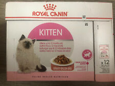 Royal Canin Kitten In Gravy Wet Cat Food - 12 x 85g Pouch Up to 12 month old